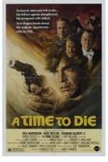 Nonton Streaming Download Drama A Time to Die (1982) Subtitle Indonesia
