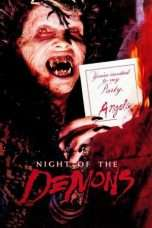 Nonton Streaming Download Drama Night of the Demons (1988) Subtitle Indonesia
