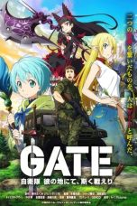 Nonton Streaming Download Drama Gate: Jieitai Kanochi nite, Kaku Tatakaeri (2015) Subtitle Indonesia