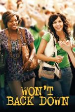 Nonton Streaming Download Drama Won't Back Down (2012) jf Subtitle Indonesia