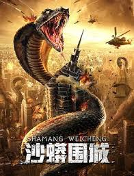 Nonton Film Snake Fall of A City / Sand Python Siege 2020 Sub Indo