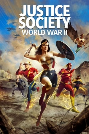 Nonton Film Justice Society: World War II 2021 Sub Indo